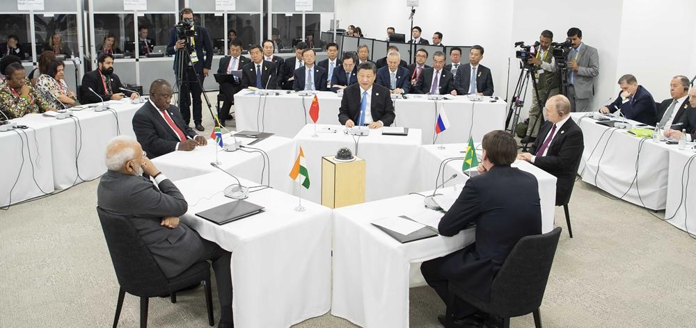 習近平出席金磚國家領導人會晤