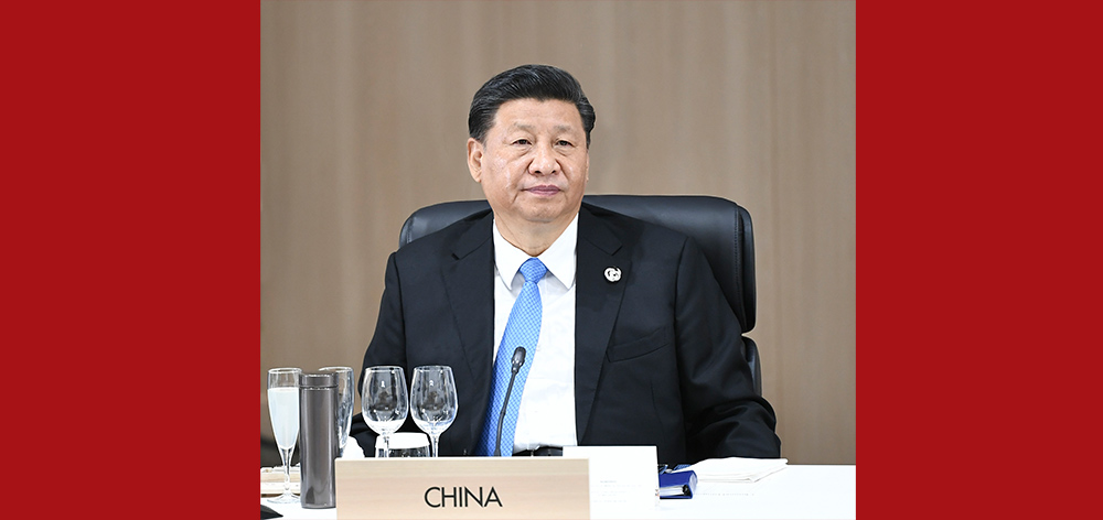 習近平出席二十國集團領導人第十四次峰會並發表重要講話