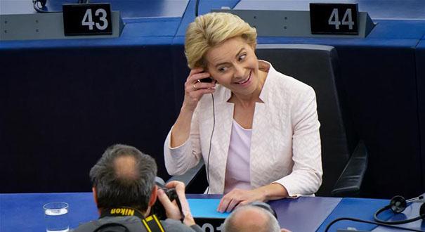 馮德萊恩當選下屆歐盟委員會主席