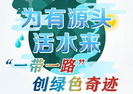 """【圖解】為有源頭活水來——""""一帶一路""""創綠色奇跡"""