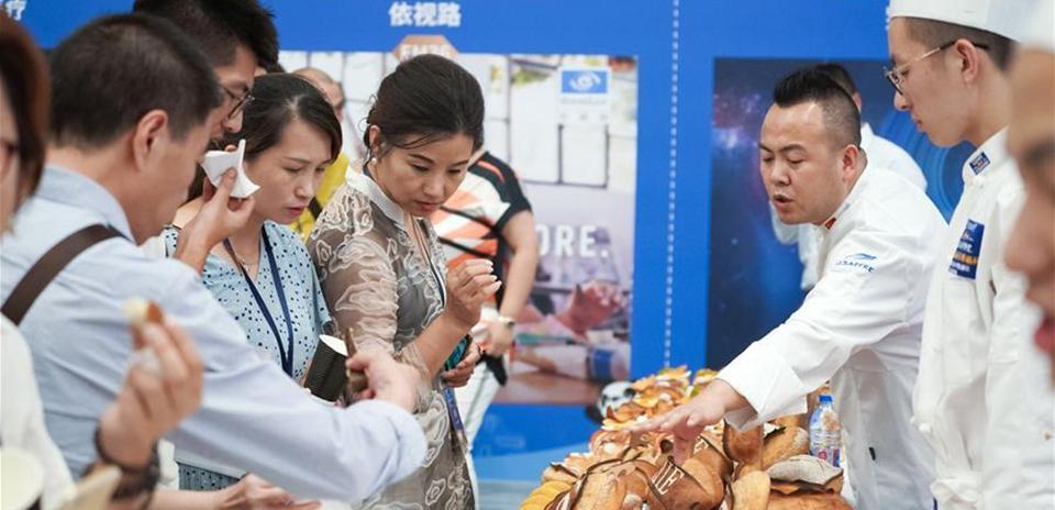 第二届进博会部分展区展前供需对接会在上海举行