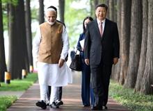 習近平同印度總理莫迪在武漢舉行非正式會晤(2018年4月27日-28日)