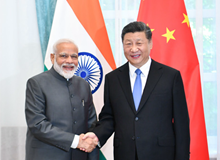 習近平會見印度總理莫迪(2019年6月13日)