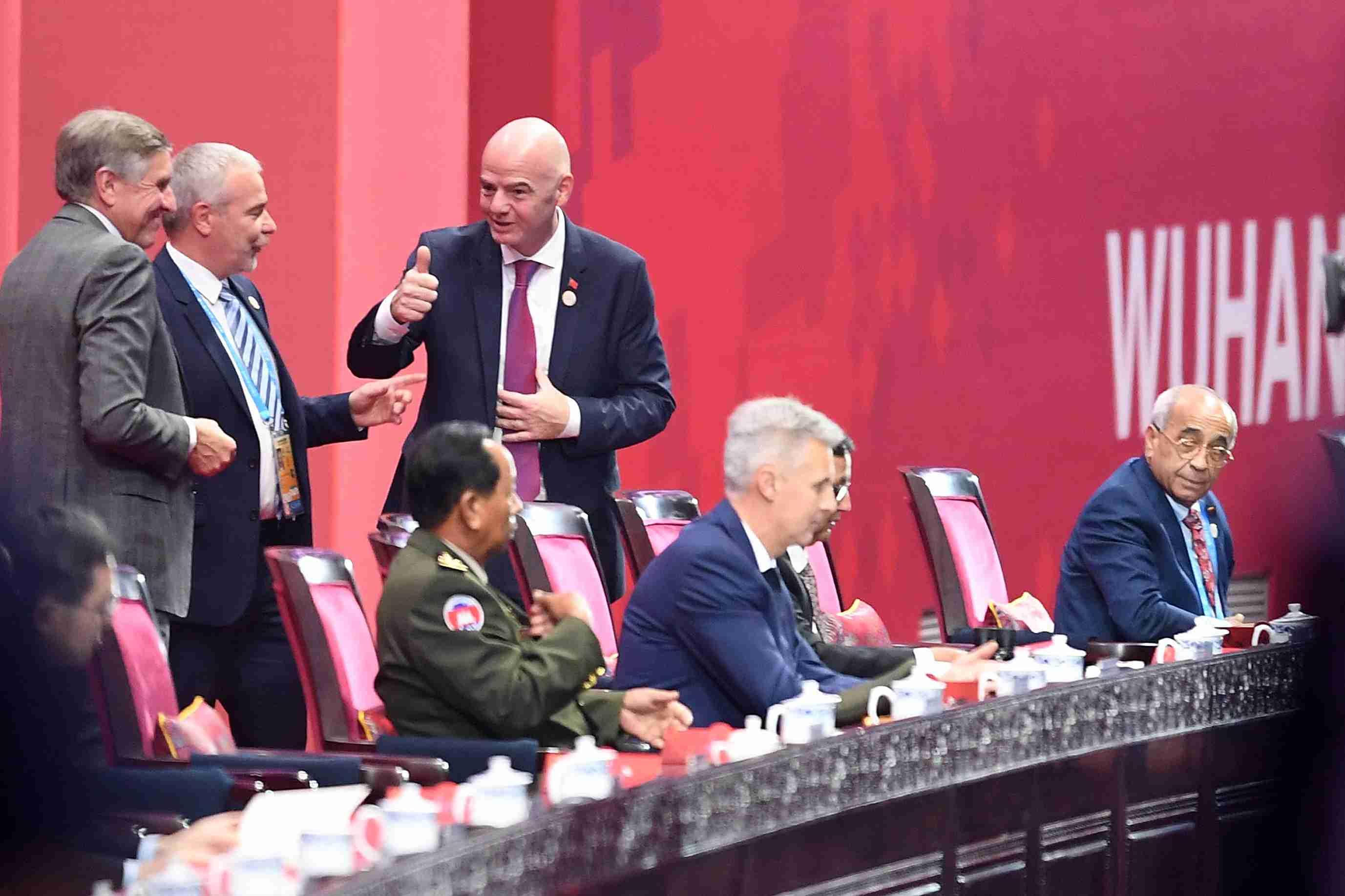 第七届世界军人运动会在武汉开幕