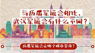 与历届军运会相比 武汉军运会有什么不同?