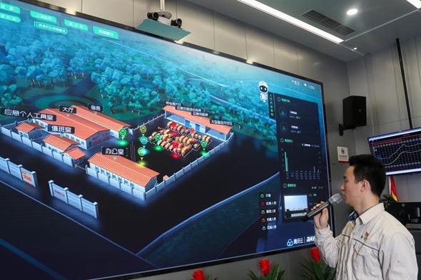 """上海:語音電力機器人助力""""進博會"""""""