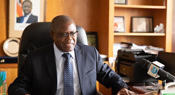 专访:进博会为非洲国家打开另一条发展经济之路——访赞比亚商贸工部长亚卢马