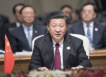 習近平出席金磚國家領導人第十次會晤並發表重要講話(2018年7月26日)