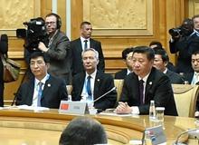 習近平出席金磚國家領導人第七次會晤並發表重要講話(2015年07月09日)