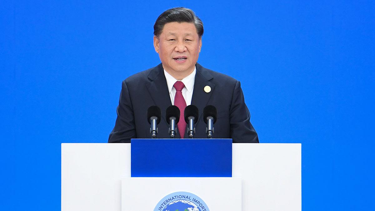 習近平出席第二屆中國國際進口博覽會開幕式並發表主旨演講