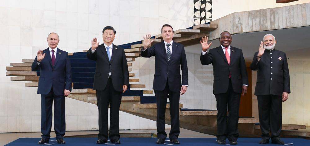 習近平出席金磚國家領導人第十一次會晤並發表重要講話