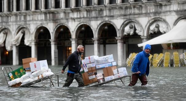 威尼斯洪災