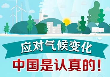 应对气候变化,中国是认真的!