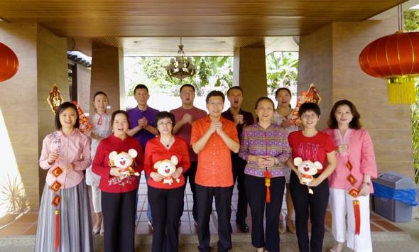 中國駐檳城總領館通過新華網向全國人民拜年