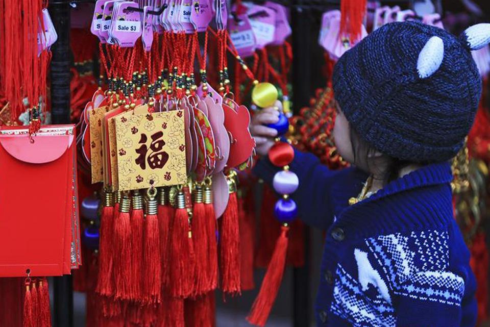 世界各地喜氣洋洋裝扮中國年