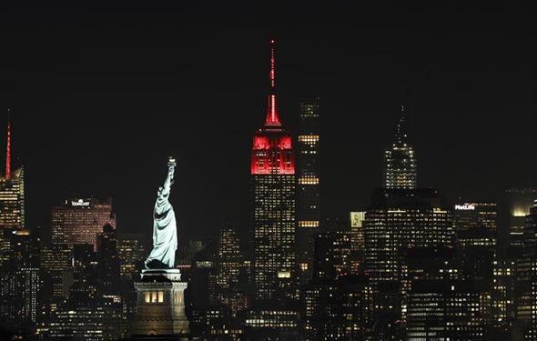 紐約帝國大廈慶祝中國新春
