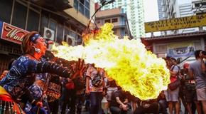 菲律賓馬尼拉舉行慶新春活動