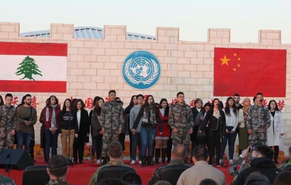 歡度中國年 共築和平夢——記中國赴黎維和部隊春節軍民聯歡