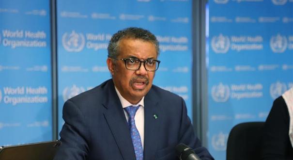 世衛組織總幹事:中方報告有助提出防控新冠肺炎疫情合理建議