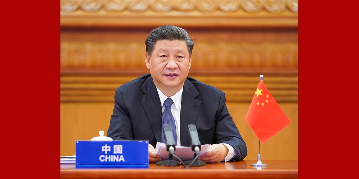 習近平出席二十國集團領導人應對新冠肺炎特別峰會並發表重要講話