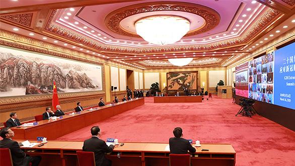 新華社評論員:凝聚攜手抗疫全球合力——論習近平主席在二十國集團領導人應對新冠肺炎特別峰會重要講話