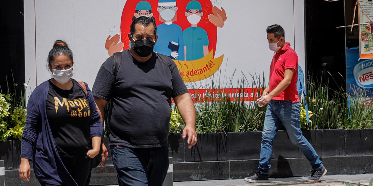 墨西哥新冠死亡病例累計超過3.5萬例