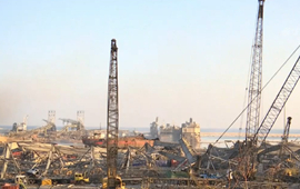 直擊!新華社記者在黎巴嫩大爆炸現場