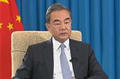 """王毅:發動""""外交戰""""暴露美國缺乏自信"""