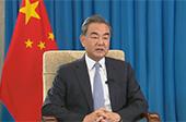 """王毅:""""對華接觸政策失敗論""""是對歷史進程的無知"""
