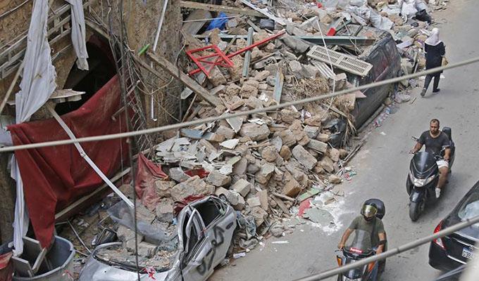 大爆炸令黎巴嫩經濟雪上加霜