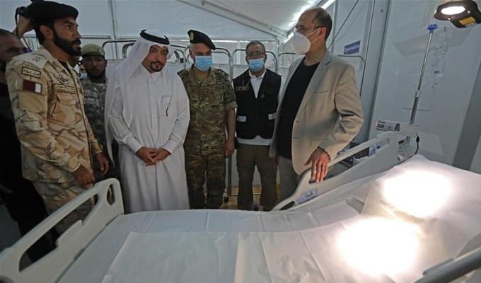 卡塔爾援助黎巴嫩野戰醫院投入使用