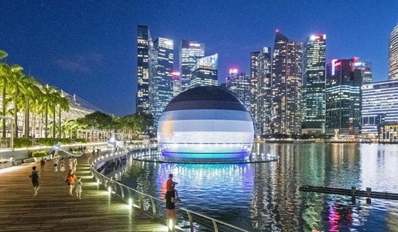 新加坡:水上蘋果零售店即將開業