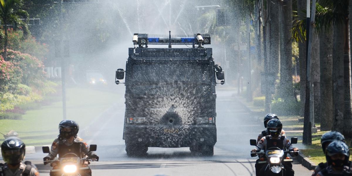 印度尼西亞:消殺防疫