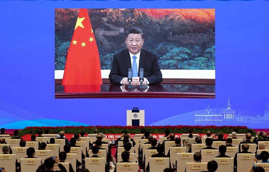 第1視點|習近平:進博會聯通中國和世界