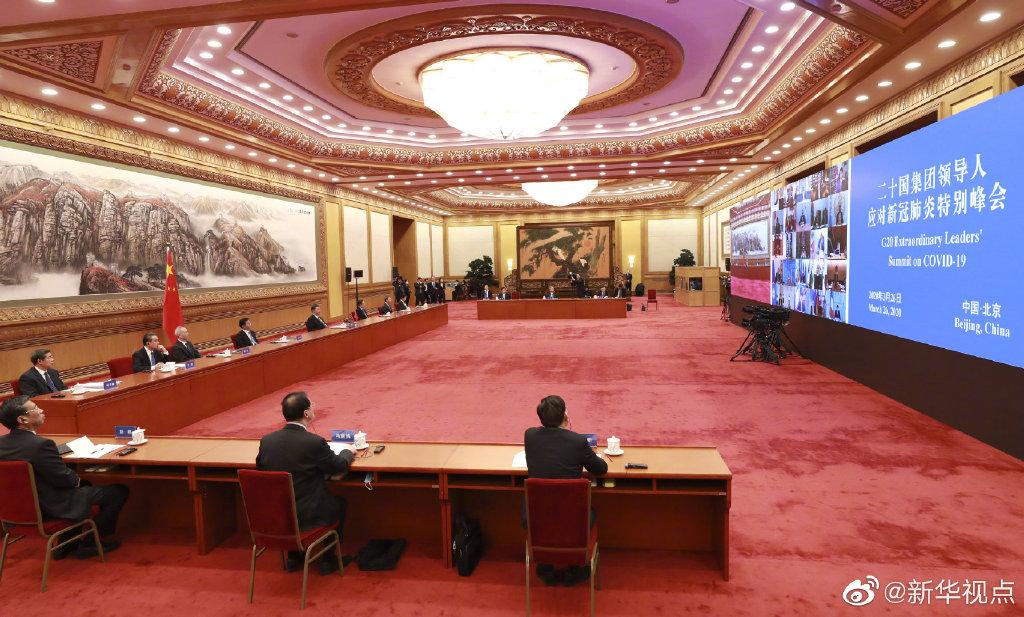 中國同二十國集團的關係