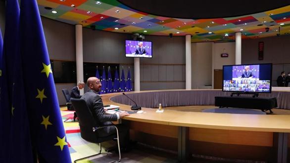 歐盟視頻峰會討論就抗疫加強協調