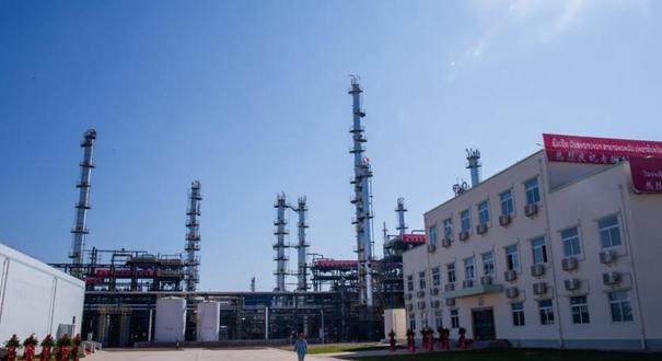 中老合資老撾首個石油煉化項目投産
