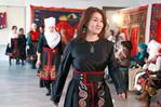 吉爾吉斯斯坦舉行裙袍大賽