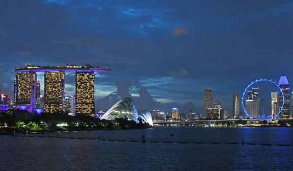 新加坡:亮燈紀念世界水日
