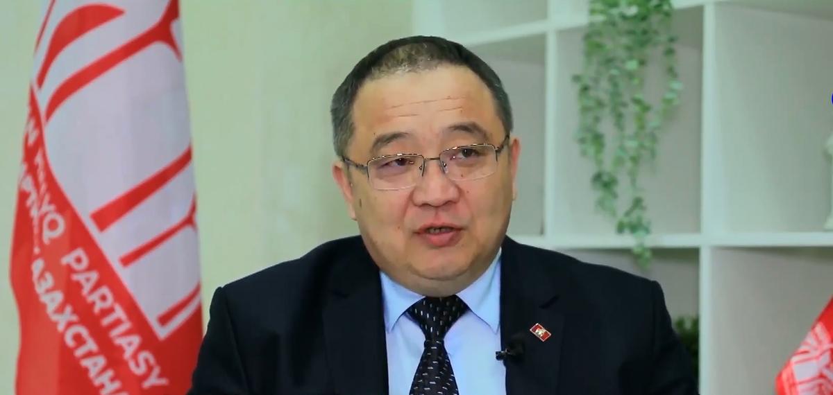 """全球连线丨""""中国共产党的作用对全人类来说弥足珍贵""""——专访哈萨克斯坦人民党中央委员会书记"""