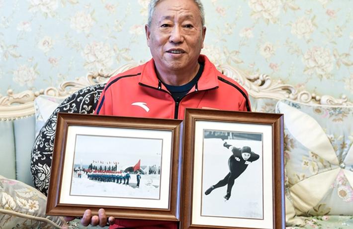 全球連線 |(走近冬奧)41年前,他成為中國第一位冬奧旗手