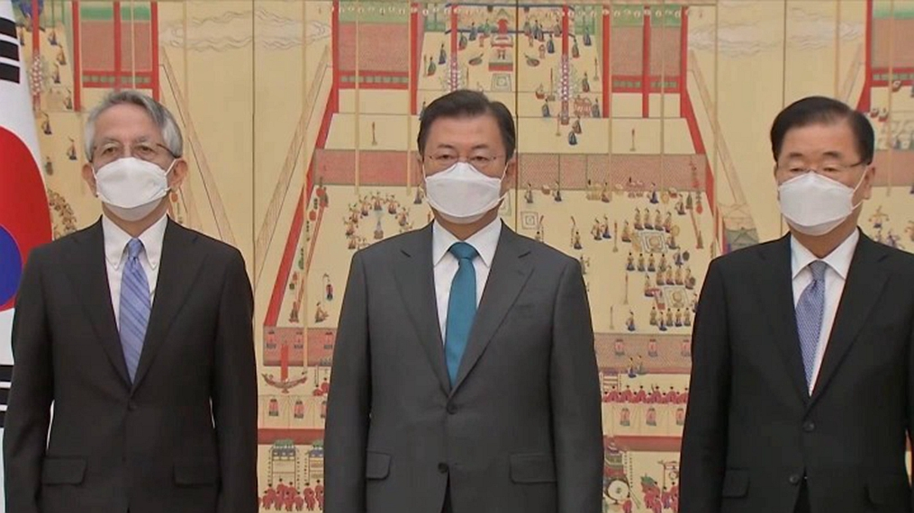 全球連線丨文在寅就日本決定將核廢水排放入海向日駐韓大使表示憂慮