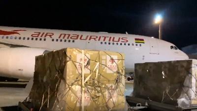 全球連線|中國援助新冠疫苗運抵毛裏求斯