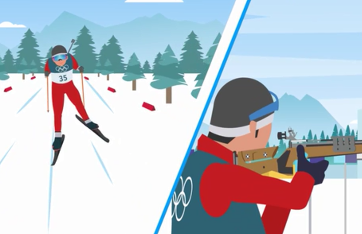 全球連線|(走近冬奧)滑雪+射擊,給你雙重精彩