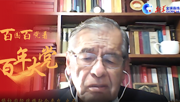 全球连线   每次访华都意味着一个新发现——秘鲁共产党(红色祖国)主席莫雷诺谈中国发展成就