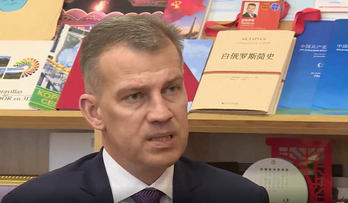 全球连线   我亲眼见证中国的发展富强——白俄罗斯共产党中央第一书记索科尔谈中国共产党