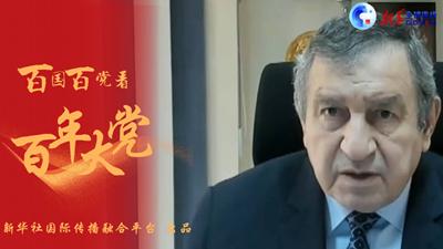 全球连线   中国共产党的卓越领导是中国繁荣发展的关键——访埃及前总理埃萨姆·谢拉夫