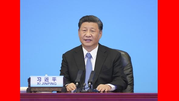 习近平出席中国共产党与世界政党领导人峰会并发表主旨讲话