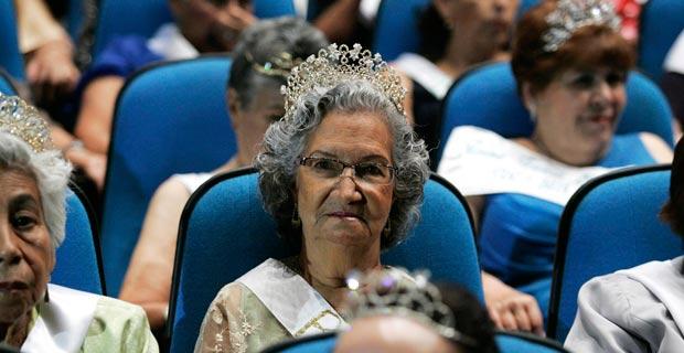 头戴皇冠尽显女王范