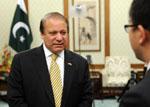 新華網專訪巴基斯坦總理謝裏夫 視頻